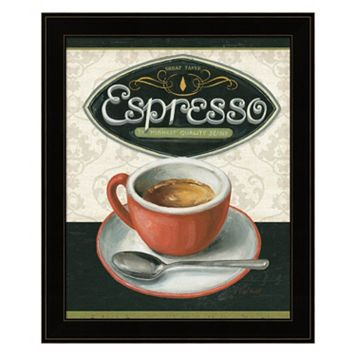 Coffee Moment III Framed Wall Art