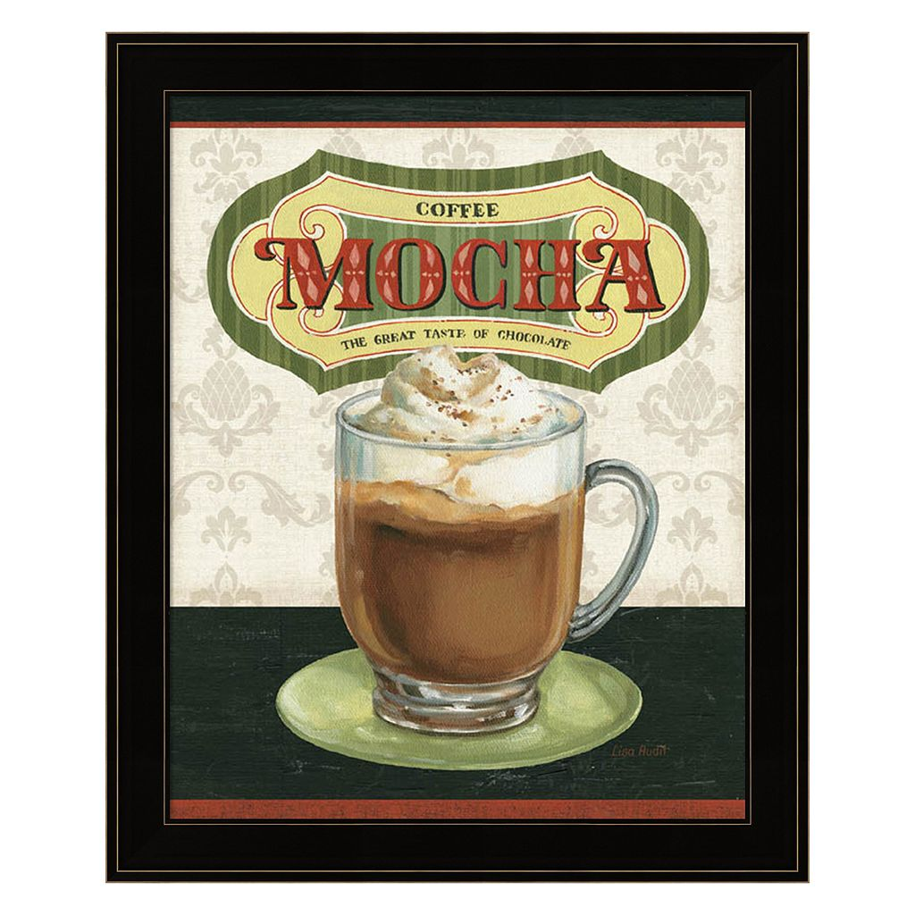 Coffee Moment IV Framed Wall Art