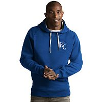 Men's Antigua Kansas City Royals Victory Pullover Hoodie