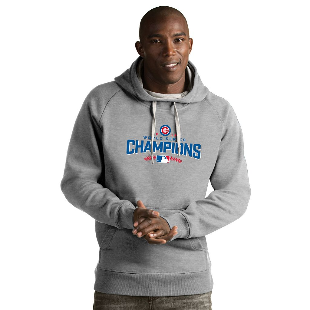 Men's Antigua Chicago Cubs 2016 World Series Champions Victory Hoodie