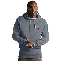 Men's Antigua Los Angeles Angels of Anaheim Victory Pullover Hoodie