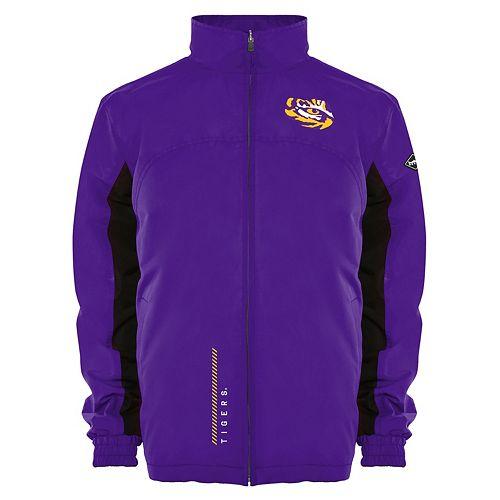 Men's Franchise Club LSU Tigers Alpine Reversible Jacket