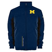 Men's Franchise Club Michigan Wolverines Alpine Reversible Jacket