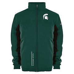 Men's Franchise Club Michigan State Spartans Alpine Reversible Jacket