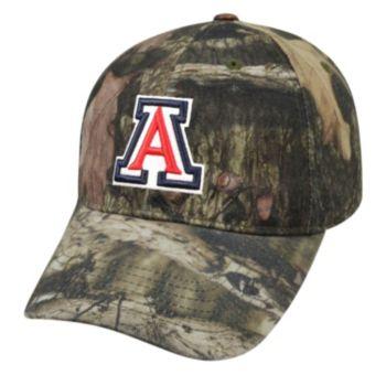 Adult Top of the World Arizona Wildcats Resistance Mossy Oak Camouflage Adjustable Cap
