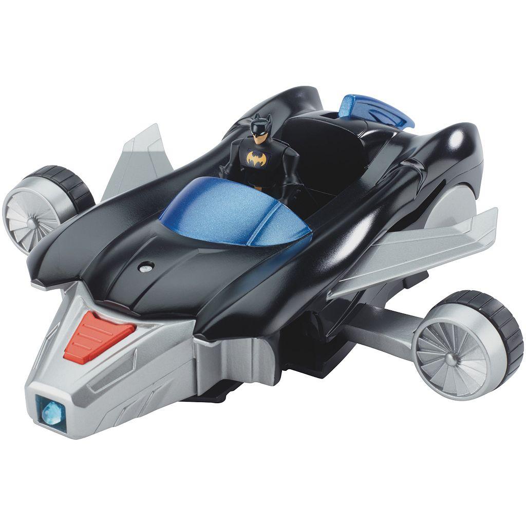 Justice League Action Batmobile & Batjet by Mattel
