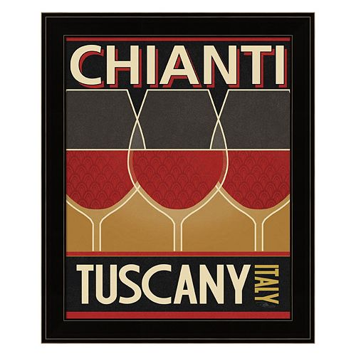 """Chianti"" Framed Wall Art"