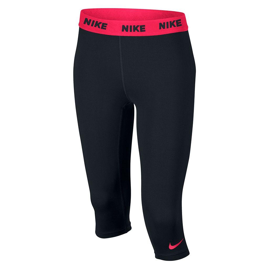 Girls 7-16 Nike Dri-FIT Victory Base Layer Capris