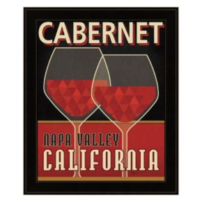 """Cabernet"" Framed Wall Art"