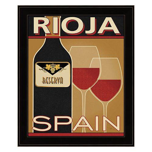 """""""Rioja"""" Framed Wall Art"""