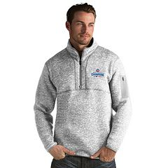 Men's Antigua Chicago Cubs 2016 World Series Champions Fortune Pullover