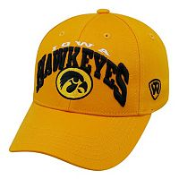 Adult Top of the World Iowa Hawkeyes Whiz Adjustable Cap
