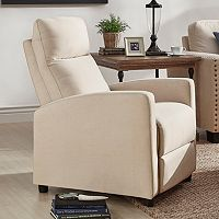 HomeVance Talocott Push Back Recliner Arm Chair