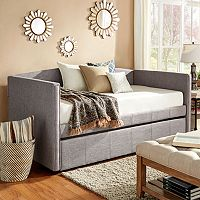 HomeVance Wallen Arm Daybed & Trundle