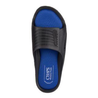 Men's Chaps Memory Foam Slide Sandals