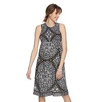 Maternity a:glow Print Smocked Midi Dress