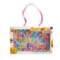 Girls 5-16 Emoji Acrylic Jewelry Set