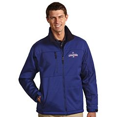 Men's Antigua Chicago Cubs 2016 World Series Champions Traverse Softshell Jacket