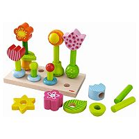 HABA Flower Garden Pegging Game