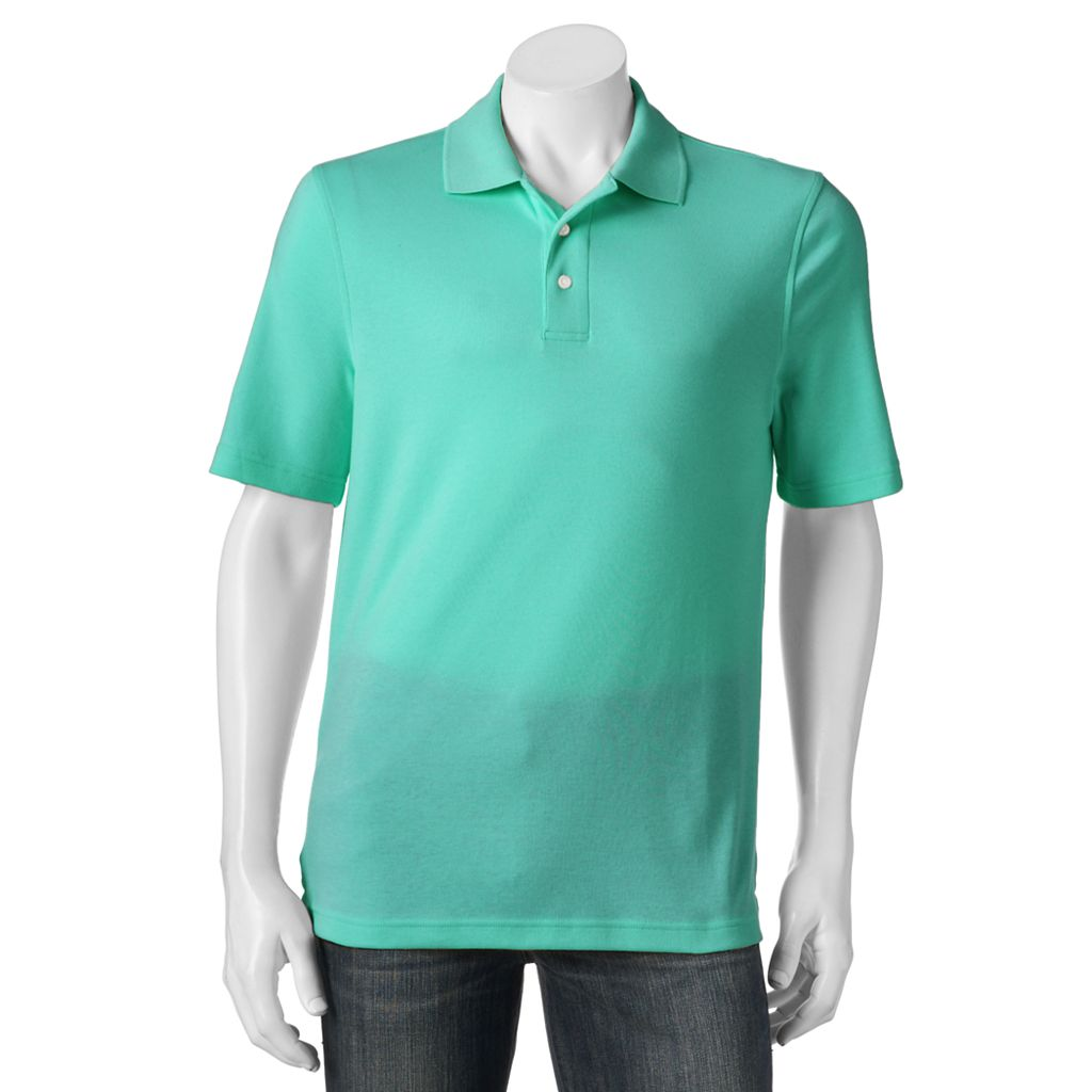 Big & Tall Croft & Barrow® Signature Polo