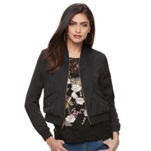 Women's Jennifer Lopez Embroidered Bomber Jacket