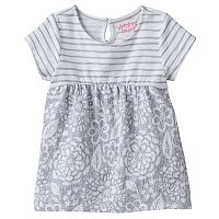Baby Girl Jumping Beans® Babydoll Print Tunic