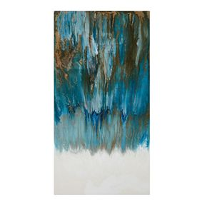 Madison Park Pearl & Sea Canvas Wall Art