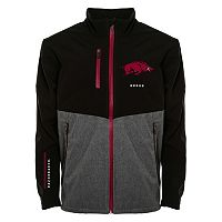 Men's Franchise Club Arkansas Razorbacks Fusion Softshell Jacket