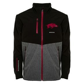 Men's Franchise Club Arkansas Razorbacks Fusion Softshell Jacket