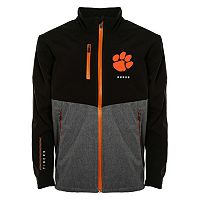 Men's Franchise Club Clemson Tigers Fusion Softshell Jacket