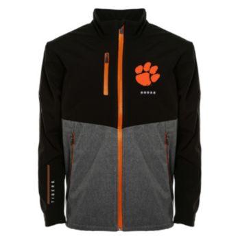 Men's Franchise Club Clemson Tigers Fusion Softshell Jacket