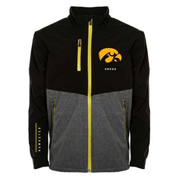Men's Franchise Club Iowa Hawkeyes Fusion Softshell Jacket