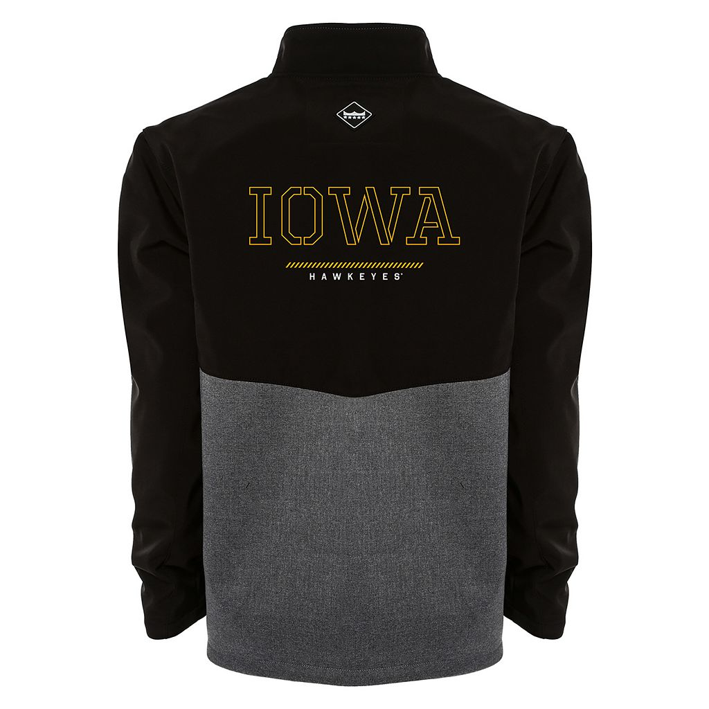 Men's Franchise Club Iowa Hawkeyes Fusion Softshell Jacket