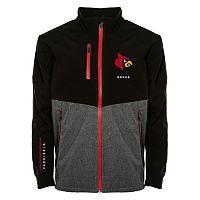 Men's Franchise Club Louisville Cardinals Fusion Softshell Jacket