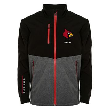 Men's Franchise Club Louisville Cardinals Fusion Softshell Jacket