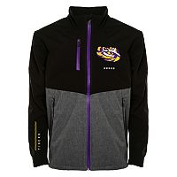 Men's Franchise Club LSU Tigers Fusion Softshell Jacket