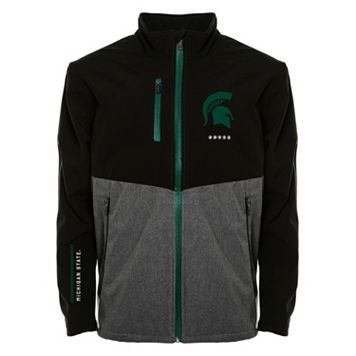 Men's Franchise Club Michigan State Spartans Fusion Softshell Jacket
