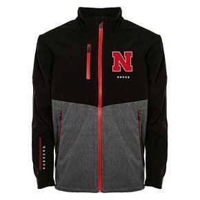 Men's Franchise Club Nebraska Cornhuskers Fusion Softshell Jacket