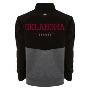 Men's Franchise Club Oklahoma Sooners Fusion Softshell Jacket