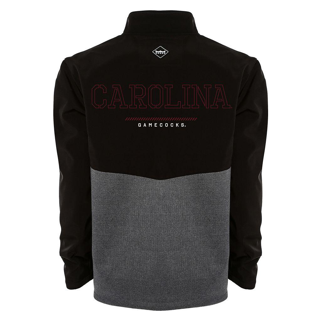 Men's Franchise Club South Carolina Gamecocks Fusion Softshell Jacket