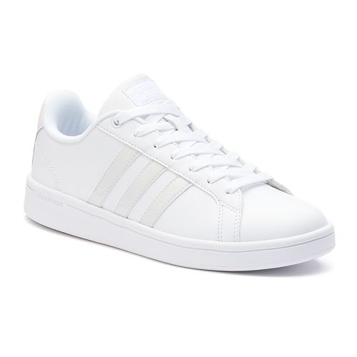 9a4e28b3977d4f adidas Cloudfoam Advantage Stripe Women s Shoes