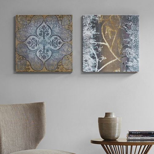 Madison Park Velvet Impressions Canvas Wall Art 2-piece Set
