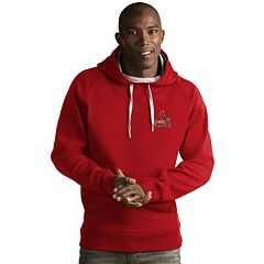Men's Antigua St. Louis Cardinals Victory Pullover Hoodie