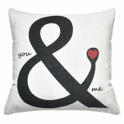 ''You & Me'' Throw Pillow