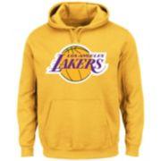 Men's Majestic Los Angeles Lakers Tek Patch Hoodie
