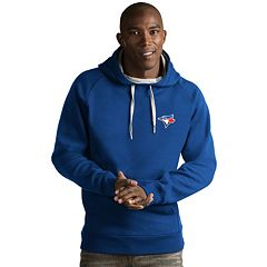 Men's Antigua Toronto Blue Jays Victory Pullover Hoodie