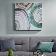 Madison Park Natural Geo Canvas Wall Art