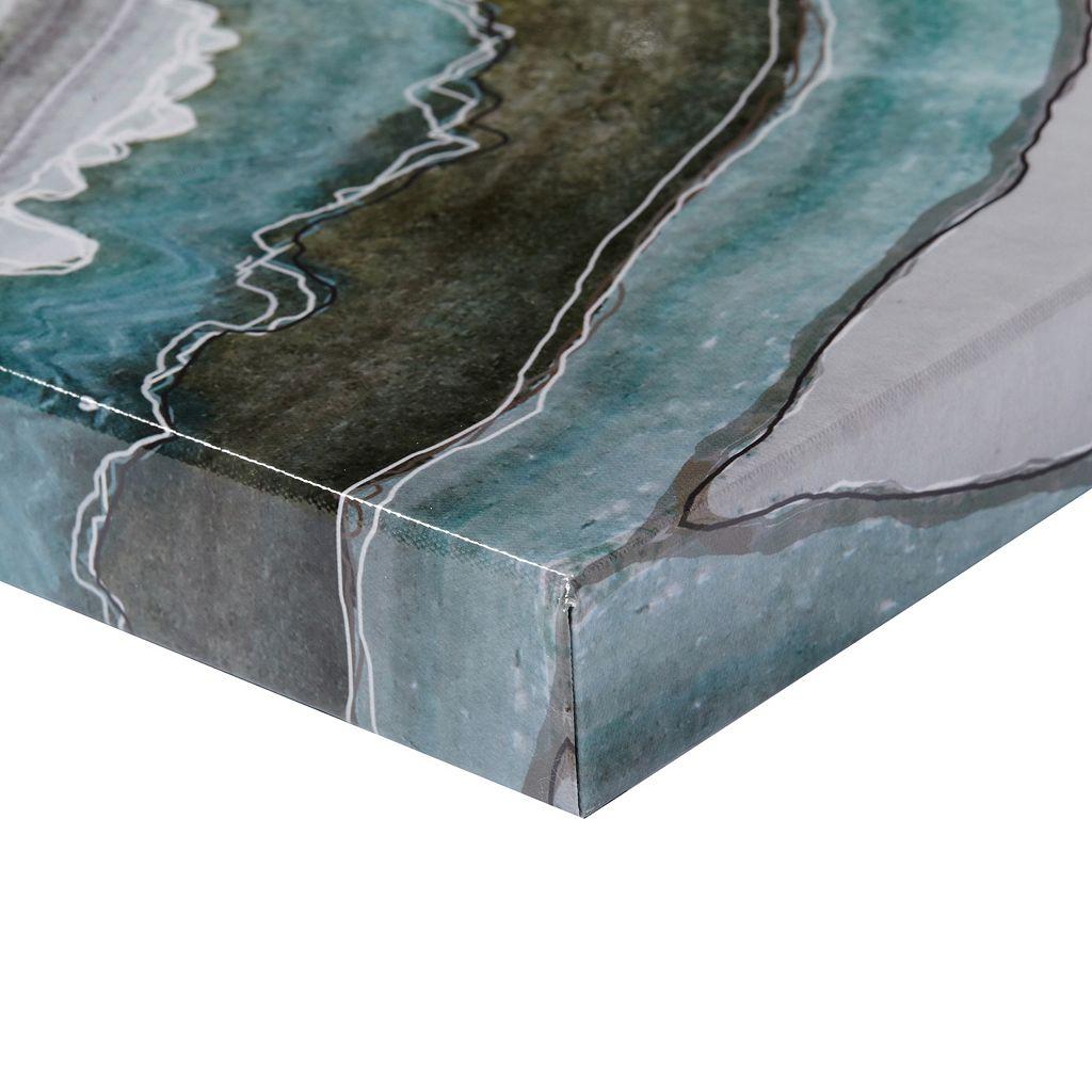 Madison Park Natural Geo Canvas Wall Art