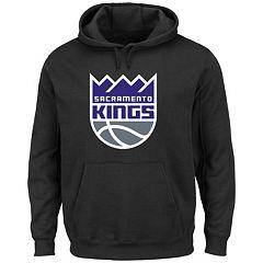 Men's Majestic Sacramento Kings Tek Patch Hoodie