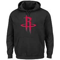 Men's Majestic Houston Rockets Tek Patch Hoodie